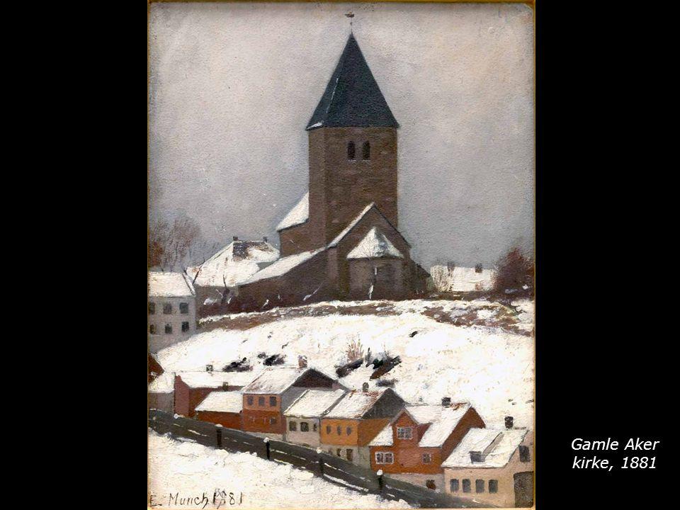 Gamle Aker kirke, 1881