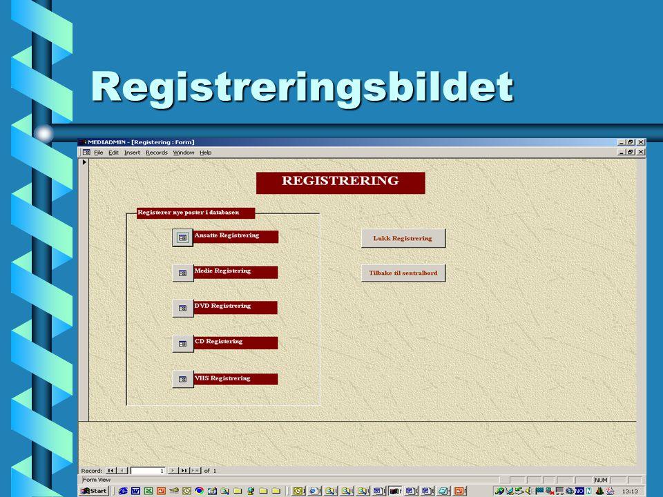 Registrering av ansatte