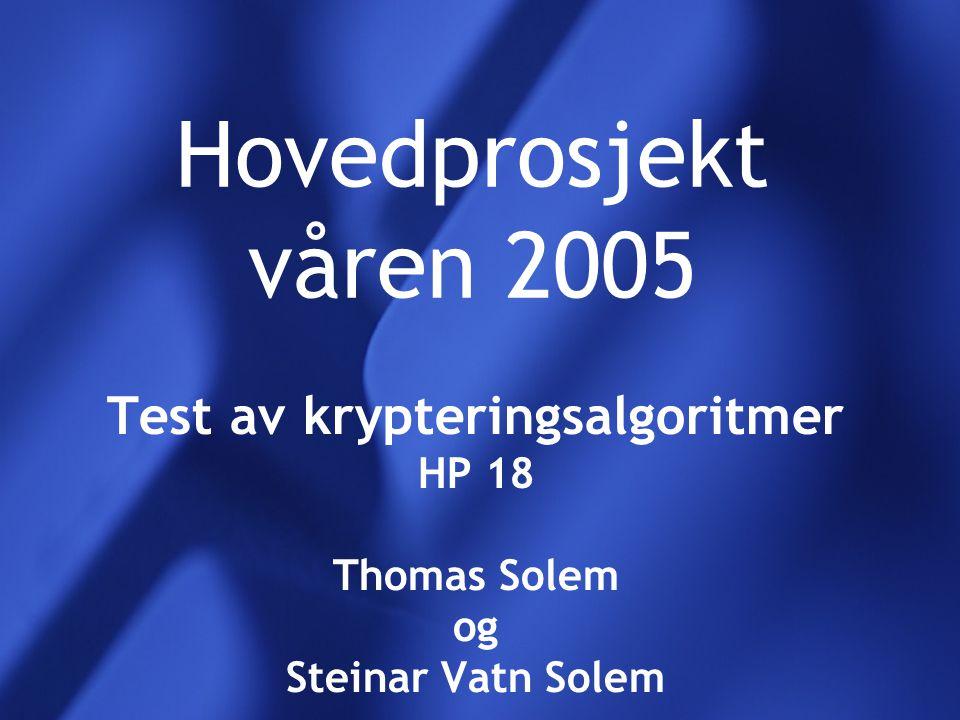 Oppgavestiller Førskolelektor Olav Skundberg Ansatt ved Høgskolen i Sør-trøndelag, avd.