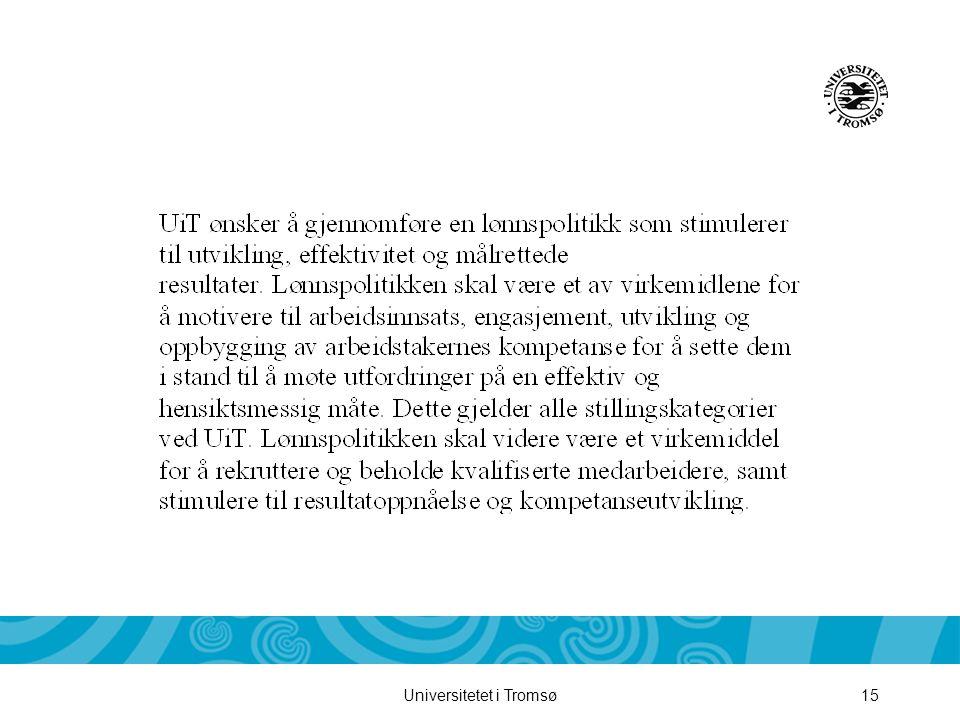 Universitetet i Tromsø15