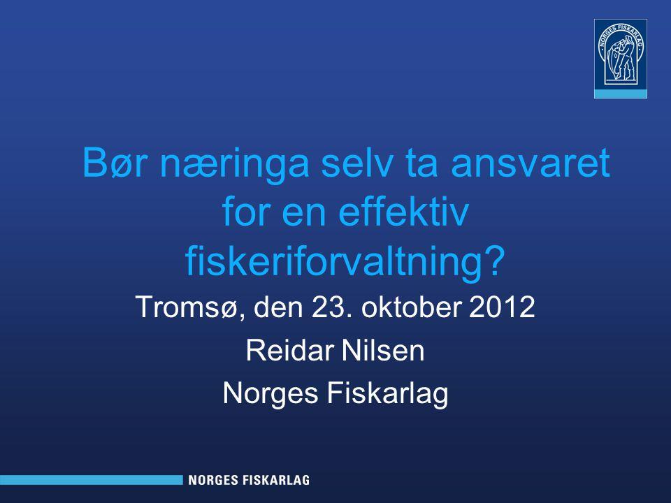 Tromsø, den 23.