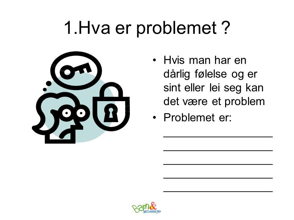 1.Hva er problemet .