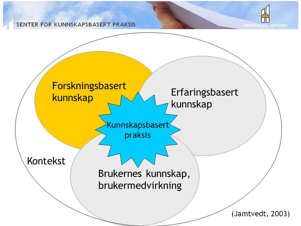 1.Refleksjon i fagutøvelsen; Erkjenne og identifisere informasjonsbehov 2.