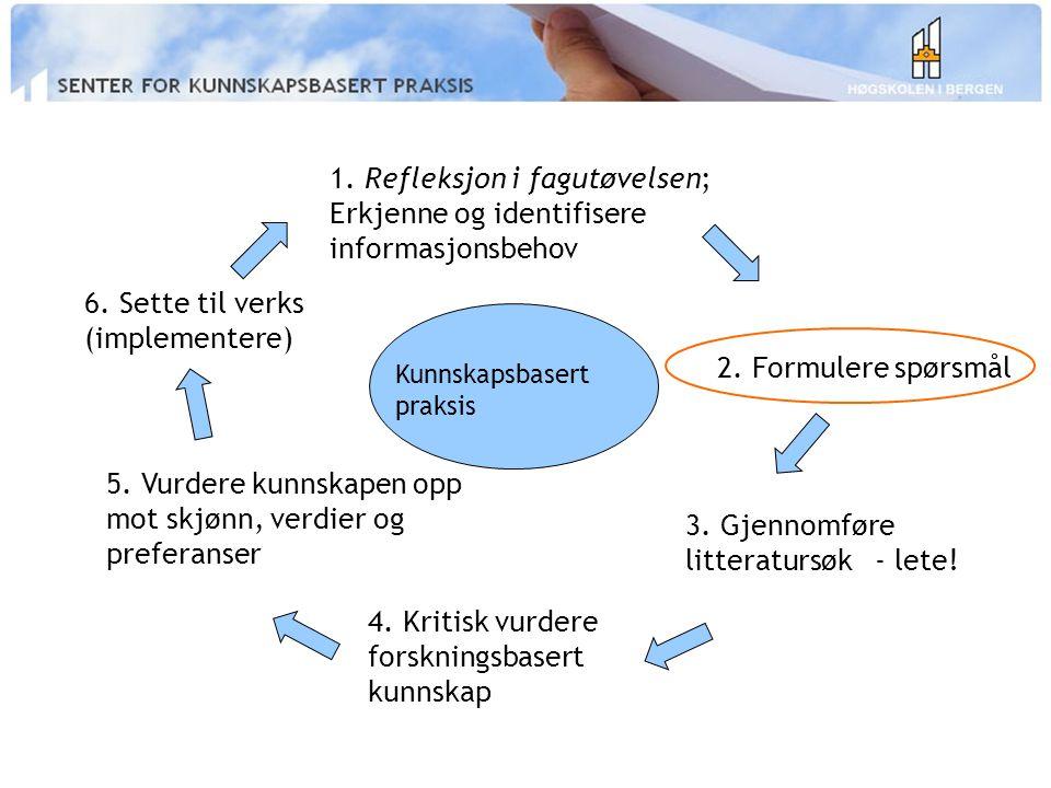 Syntheses (systematiske oversikter) Den ideelle verden...