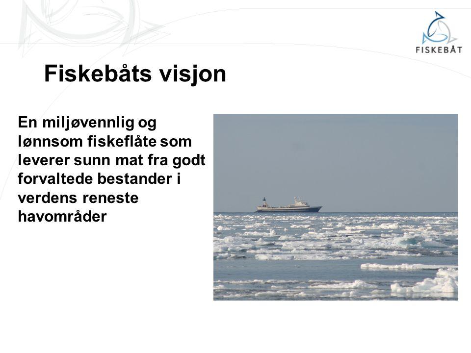 Fiskebåt Interesse- og arbeidsgiverorganisasjon for den norske havfiskeflåten Stifta i 1946 Ca.