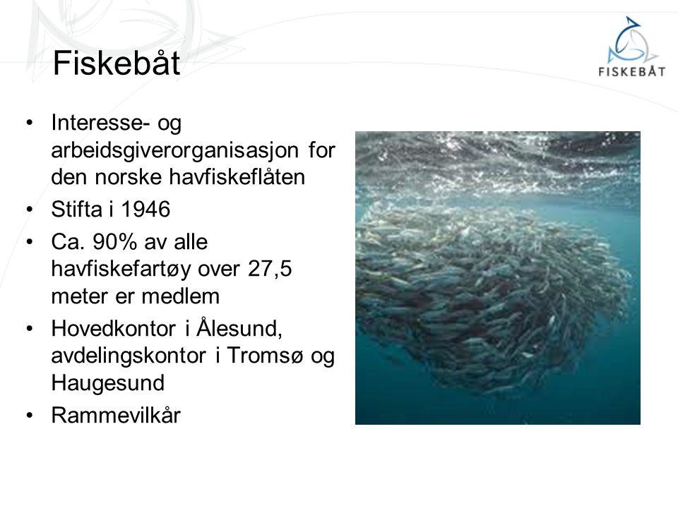 Forvaltning Fiskebåt svært opptatt av føre-var prinsippet Fiskebåt en pådriver for økosystembasert forvaltning Viktig at ikke alt som er føre- var i en enbestands-modell er føre-var for andre bestander