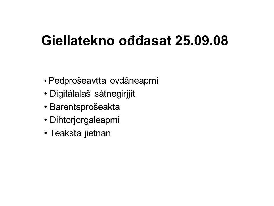 Pedprošeakta 1 http://victorio.uit.no/oahpa/morfa_s/