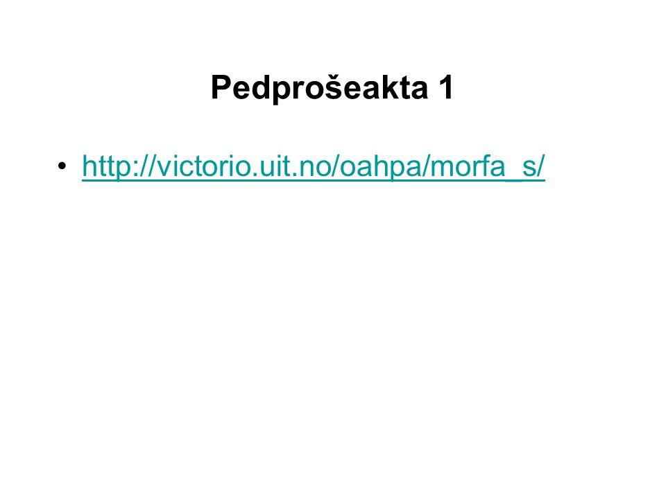 Pedprošeakta 2 Vasta feedback: Det er for enkelt å svare vet-ikke.