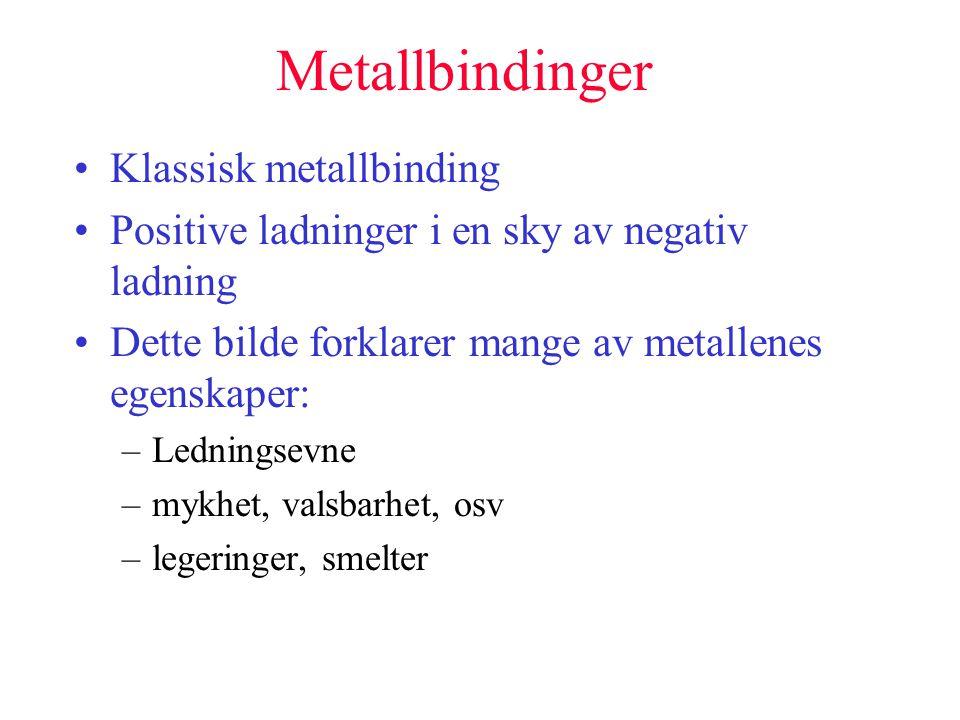 Metallbinding definisjon