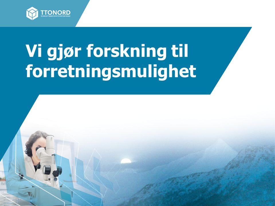 Forretningsidé bidra til at forskning fra nordnorske forsknings- og utdanningsmiljø fremmes, bearbeides og utvikles frem til potensielle forretningsmuligheter være dyktige på innovasjonsarbeid i tidlig fase og på aktivt nettverksarbeid bistå til å organisere og administrere uttesting av produkter og tjenester innenfor medisin og helse at resultater kommer til anvendelse har høy prioritet November 20093