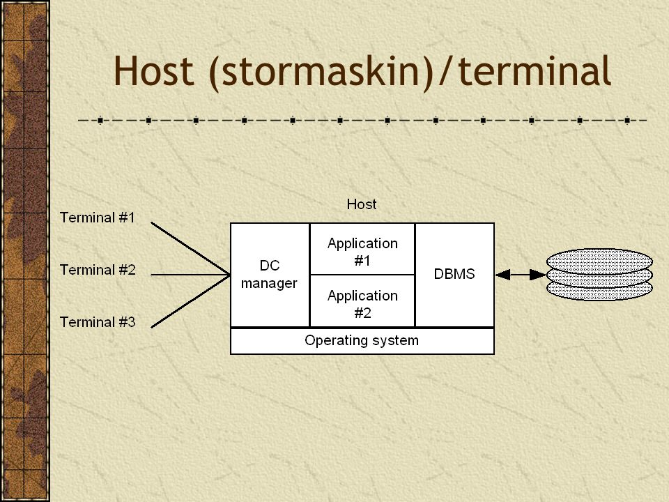 Fordeler ved trelagsmodellen Sikkerhet Data skjules i applikasjonsserveren Ytelse God pga liten nettverksbelastning Tilgang Eldre systemer blir tilgjengelig via gatewayer Enklere vedlikehold Få servere vs.
