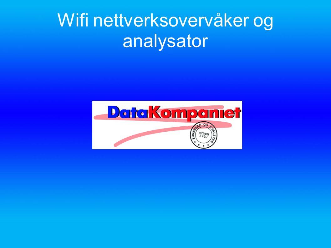 Wifi nettverksovervåker og analysator