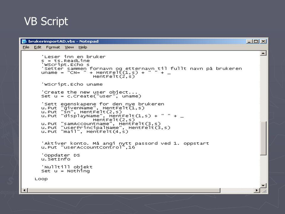 Novell Netware 6.5 RESULTAT: ► Novell Netware 6.5 består av 2 CDer der CD2 inneholder en Virtual Office pakke ► Opprett en 200 MB DOS partisjon før du legger inn Windows XP på klienten da du skal bruke denne til å lage imaget ► Lag en boot cd fra iso filen som ligger i Zenworks mappen da slipper du å bruke 4 disketter