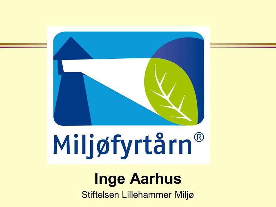 Inge Aarhus Stiftelsen Lillehammer Miljø