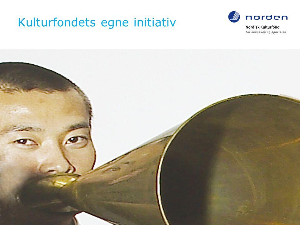 Kulturfondets egne initiativ