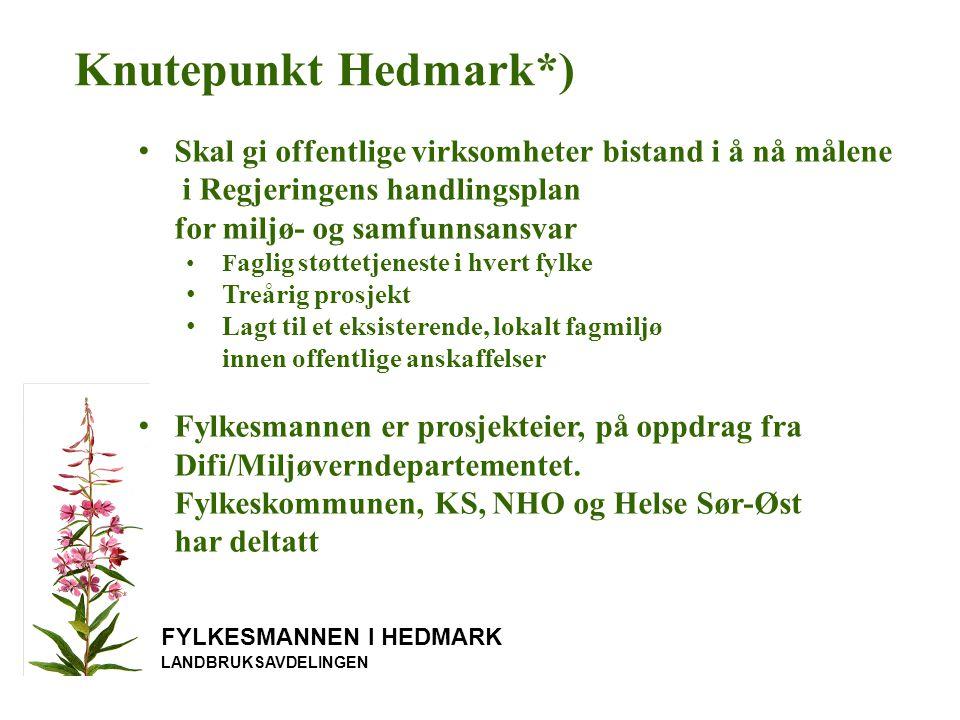 Studietur til København FYLKESMANNEN I HEDMARK LANDBRUKSAVDELINGEN