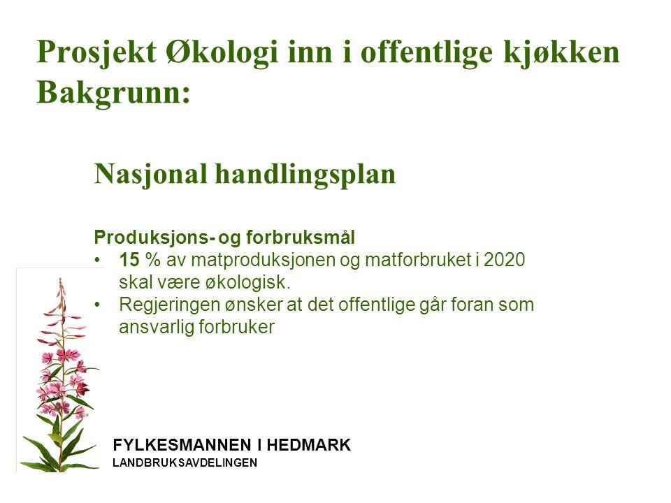 FYLKESMANNEN I HEDMARK LANDBRUKSAVDELINGEN 3.