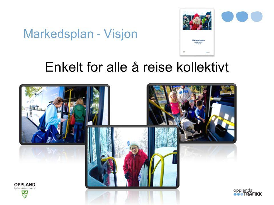 Markedsplan - Visjon Enkelt for alle å reise kollektivt