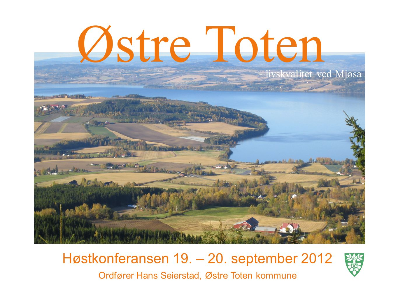 Østre Toten Høstkonferansen 19. – 20.