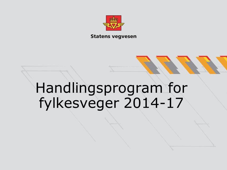 Handlingsprogram for fylkesveger 2014-17
