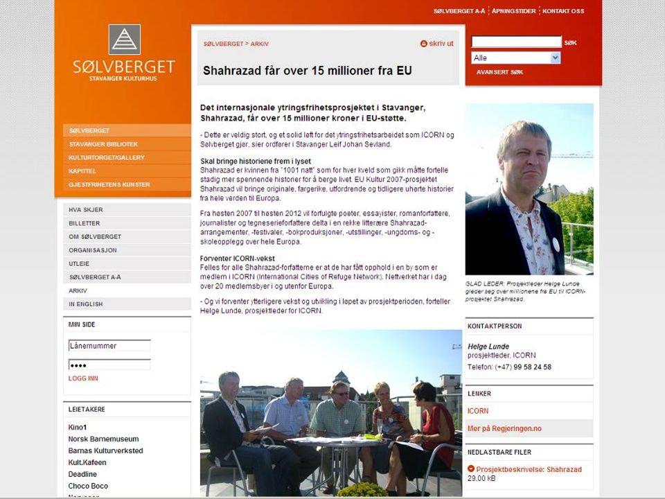 18 Lillehammer 11. desember 2007 EØS-finansieringsordningene