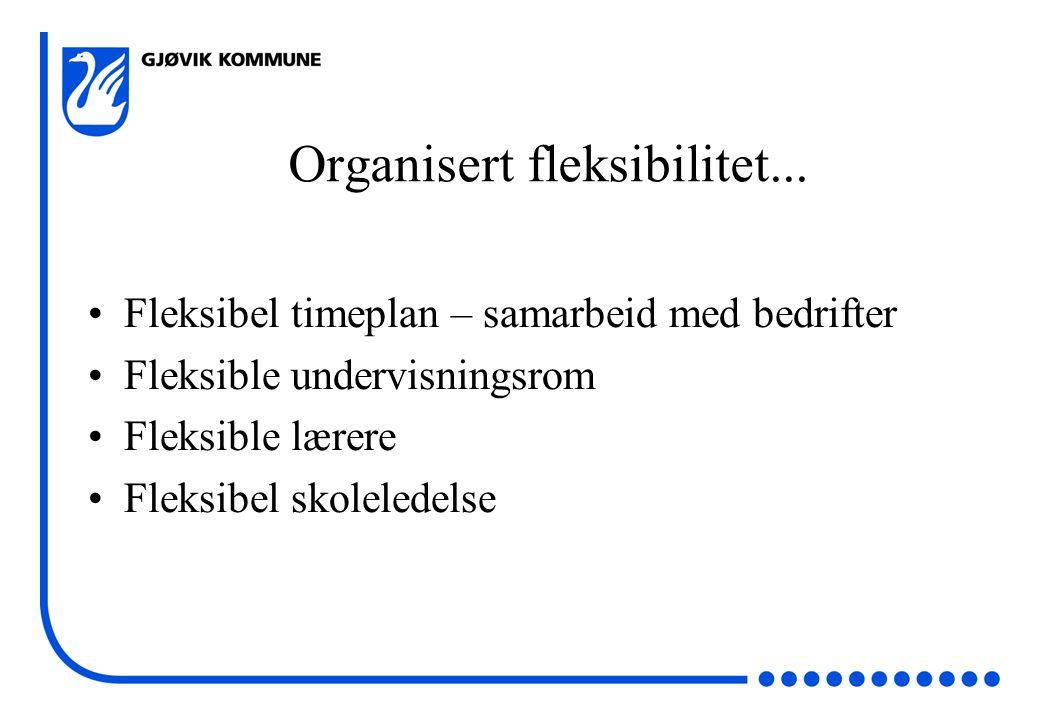 Organisert fleksibilitet...