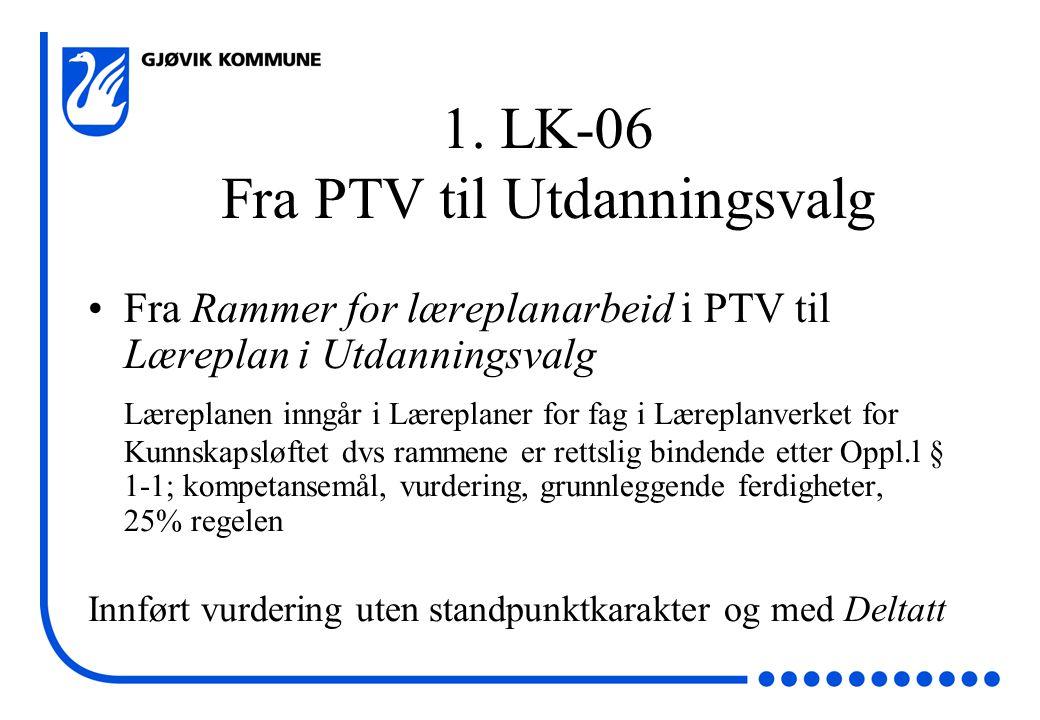 Utdanningsvalg 18.11.08 - HDL 1.