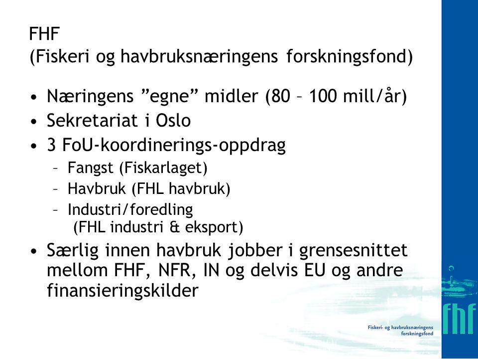 Andre perspektiver 3 – 5 år fremover Sterk og fokusert FoU-innsats sammen med NFR og IN og EU skal hjelpe næringen til å oppnå: Miljøvennlig og kostnads- effektiv kontroll med marin begroing på nøter og utstyr Tilnærmet null rømming av fisk SINTEF Sintef