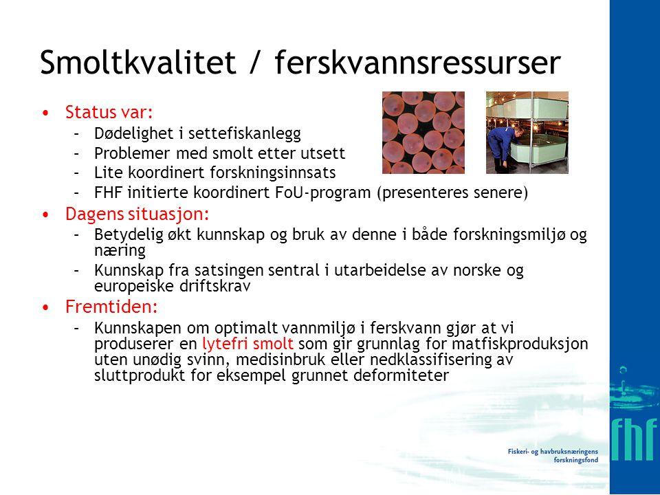 Dødelighet etter smitte med IPN virus (data fra Fiskeriforskning) Akkumulert dødelighet (%)