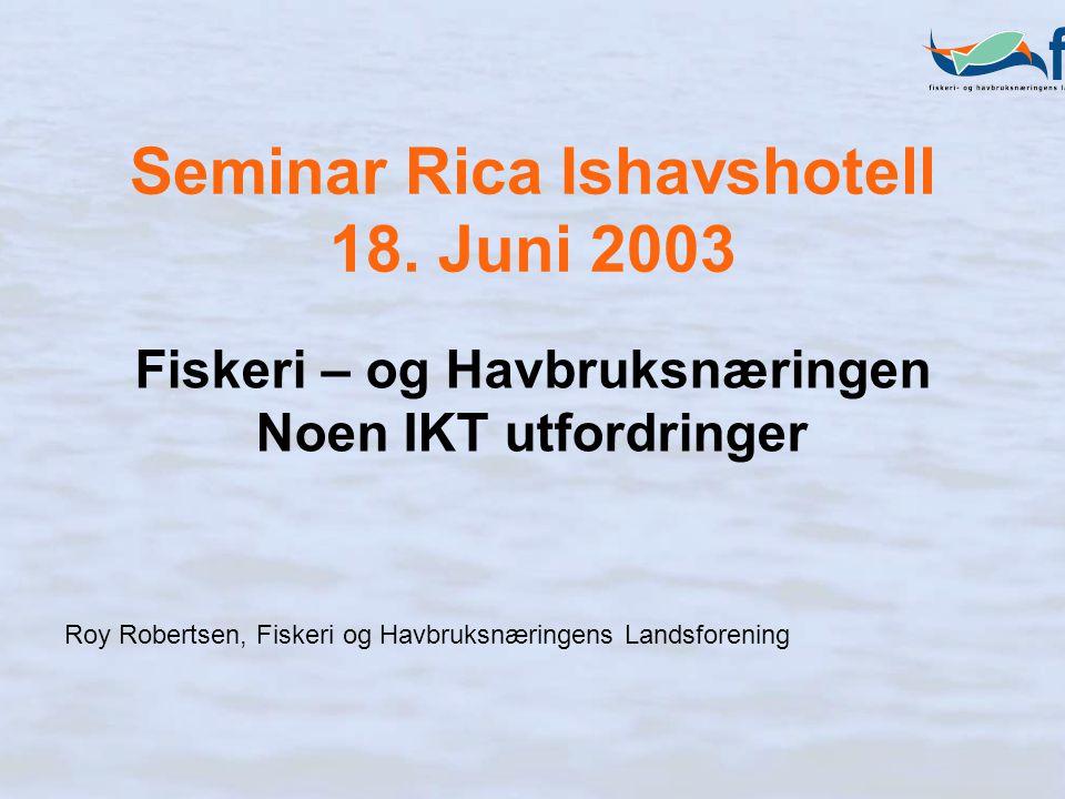 Seminar Rica Ishavshotell 18.