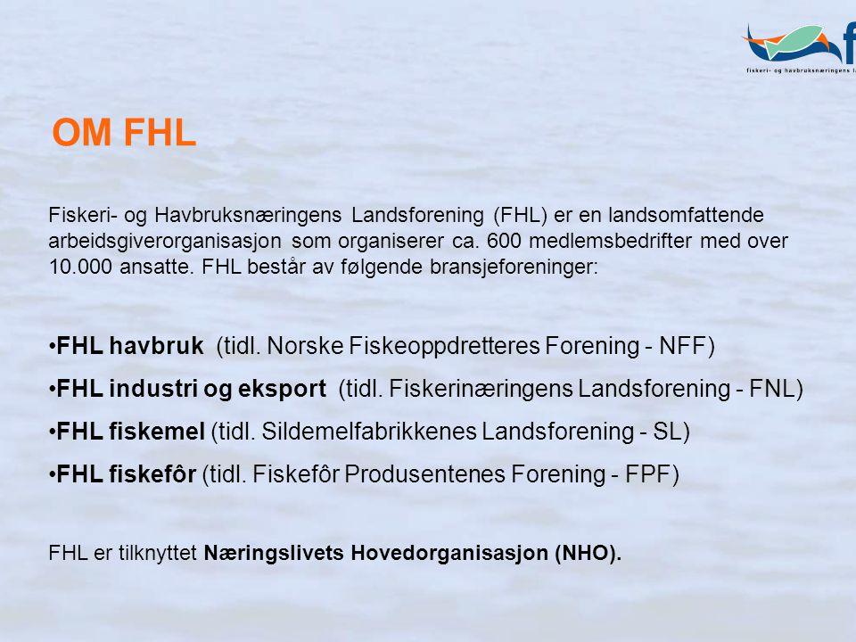 Fiskeri- og Havbruksnæringens Landsforening (FHL) er en landsomfattende arbeidsgiverorganisasjon som organiserer ca.