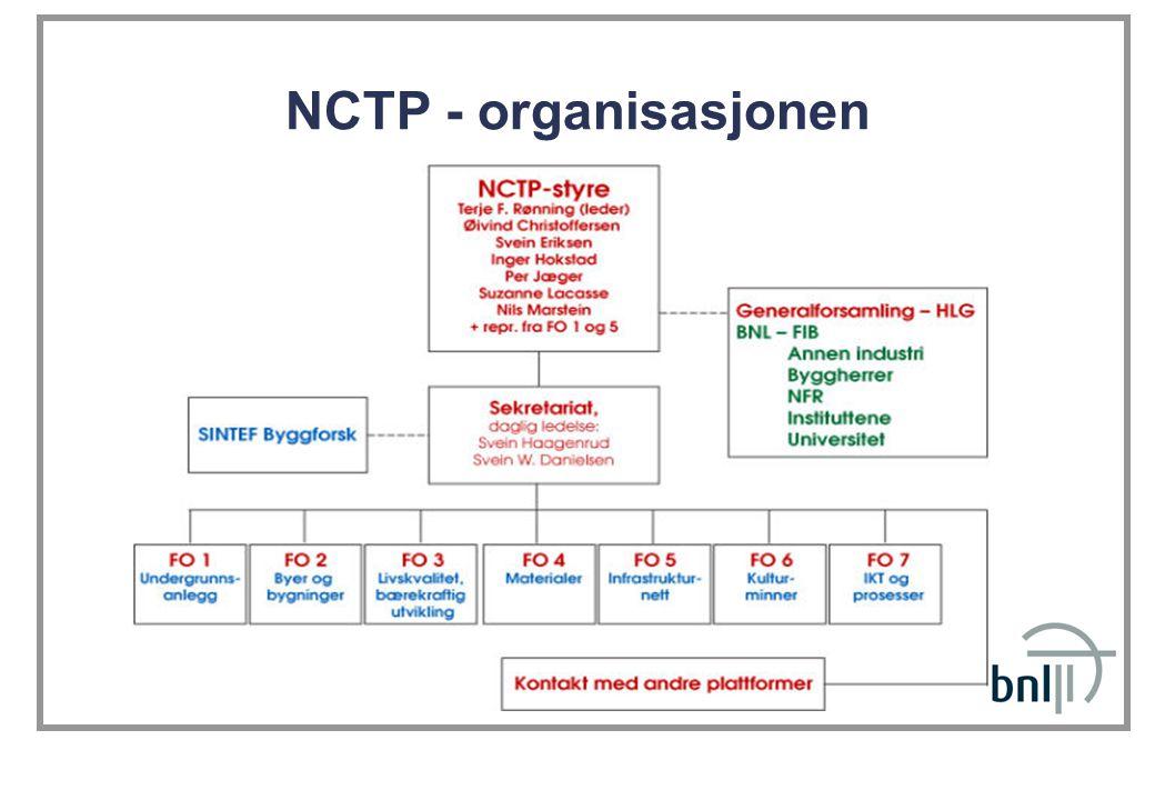 NCTP - organisasjonen