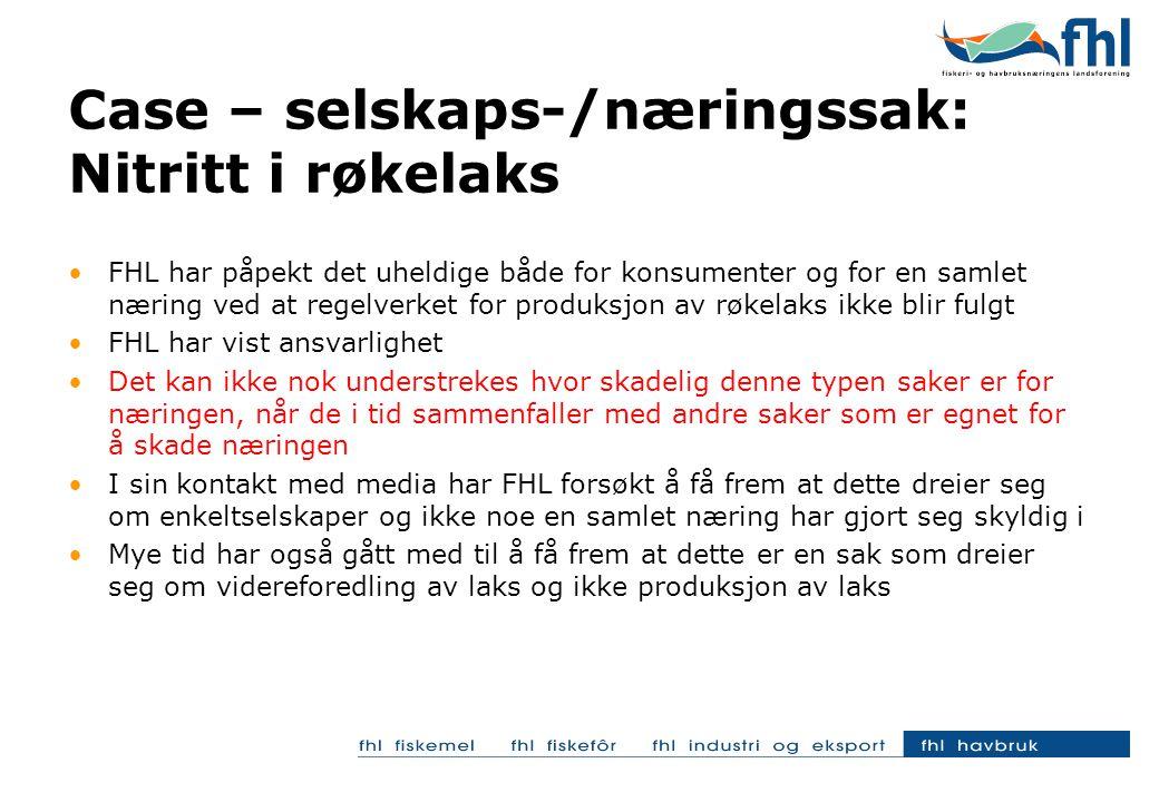 EFF har gjennomført en medieanalyse av omtalen av laks i perioden desember- januar og en holdningsundersøkelse blant norske forbrukere i uke2/2006 MEDIEDEKNINGEN AV LAKS (desember 2005 – januar 2006) - Observer har gjennomført en analyse av mediedekningen laks i perioden desember- januar i Norge.