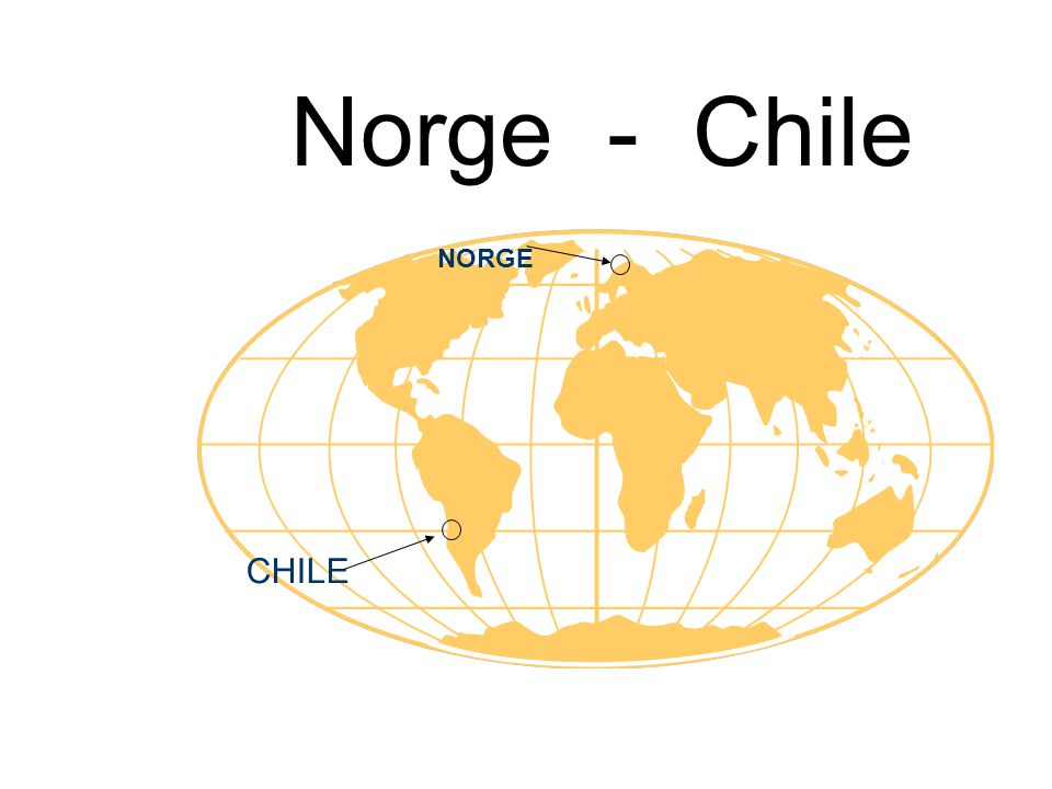 To langstrakte land, to historier, to kulturer CHILENorge Bosetting, første hvite mann1550 .