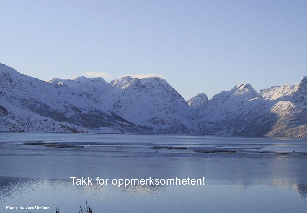 Photo: Jon Arne Grøttum Takk for oppmerksomheten!