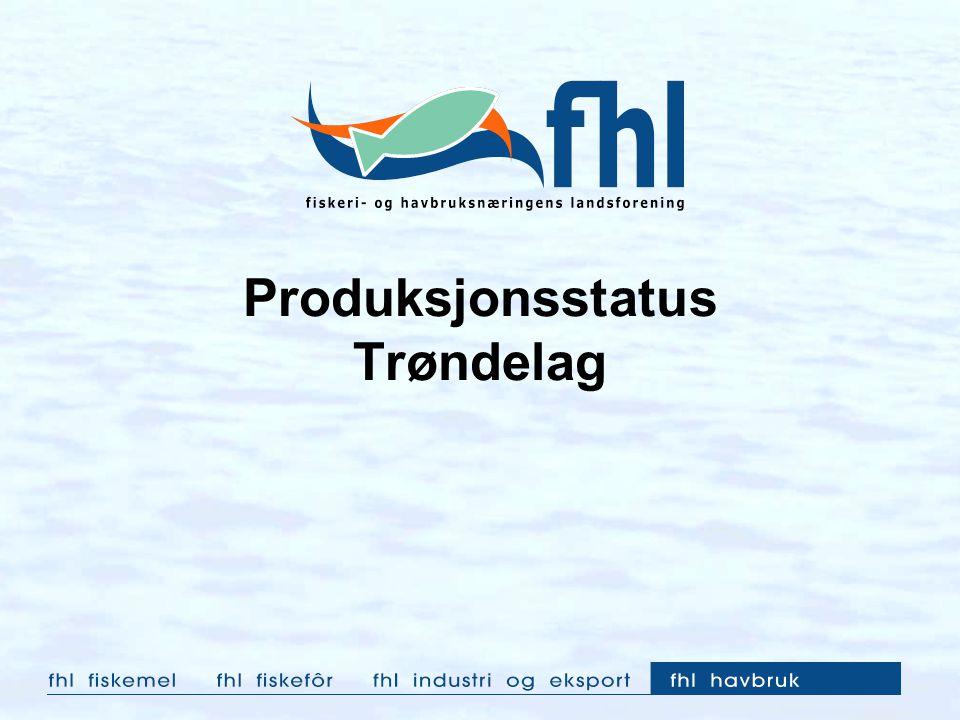 Produksjonsstatus Trøndelag