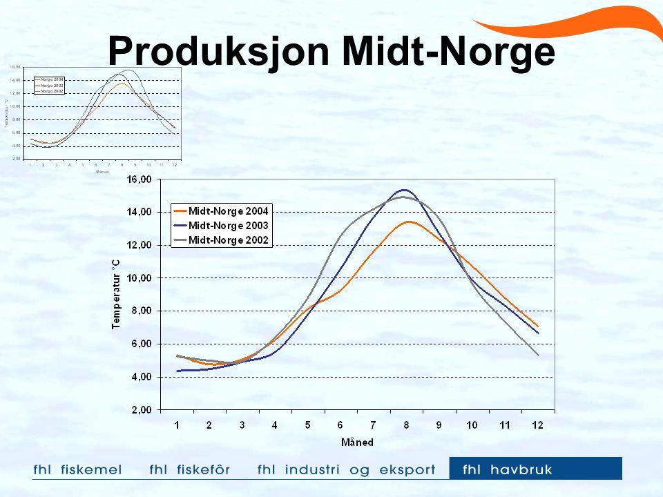 Produksjon Midt-Norge