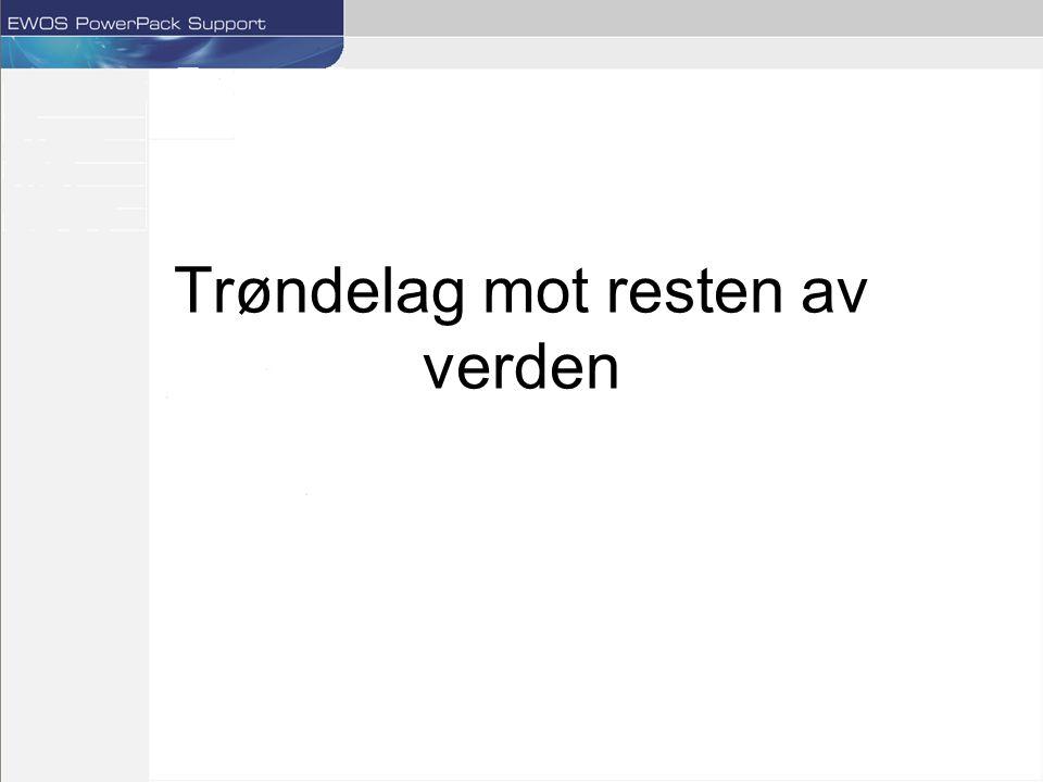 FCR snitt for årene 2001-2003 Trøndelag har den laveste fôrfaktoren i snitt for denne perioden.