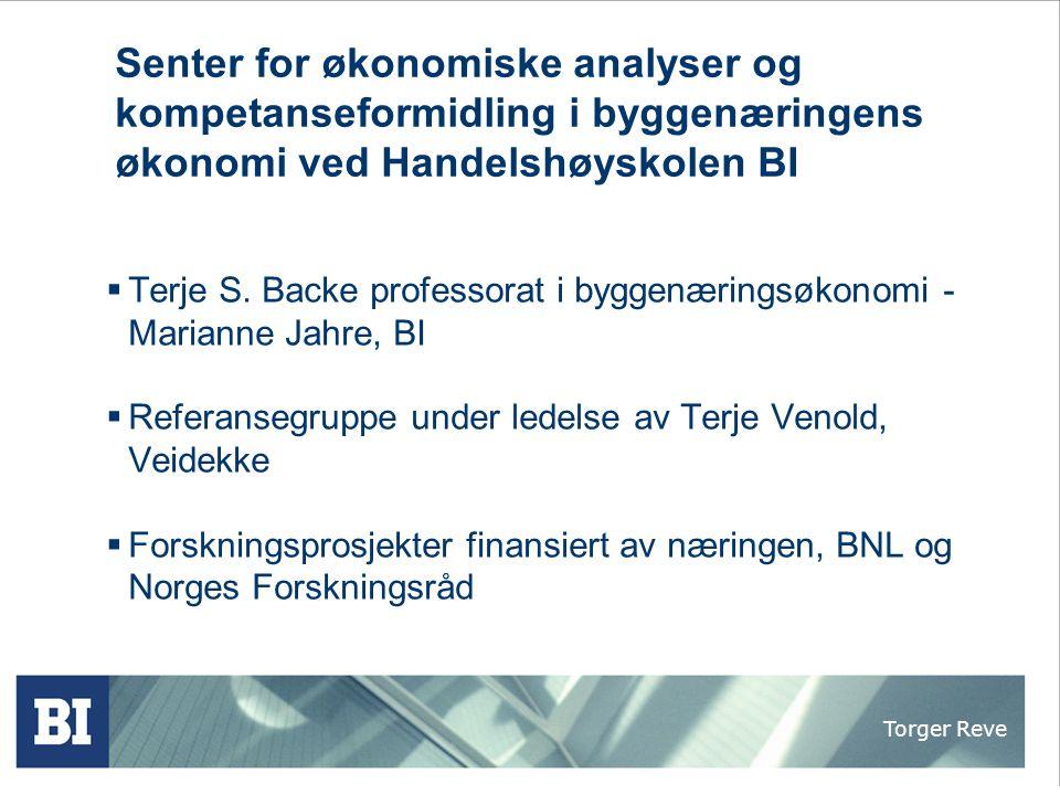 Torger Reve BI Campus Nydalen
