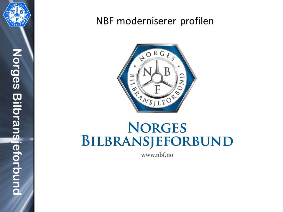 Norges Bilbransjeforbund NBF moderniserer profilen