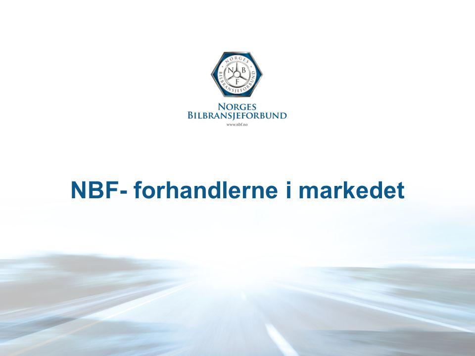 NBF- forhandlerne i markedet