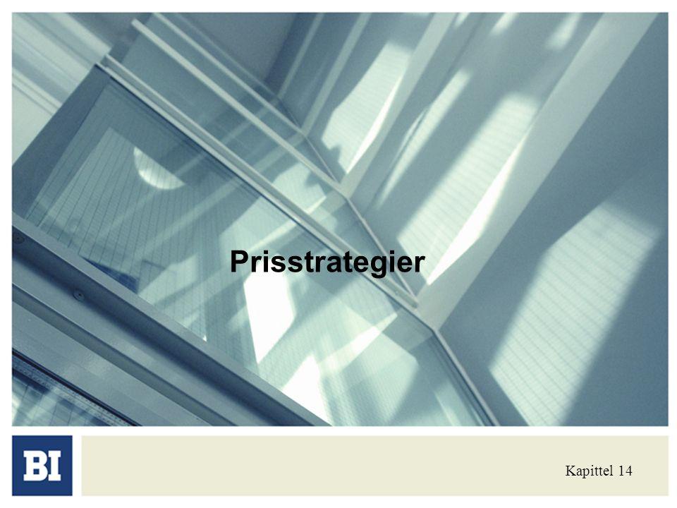 Prisstrategier Kapittel 14