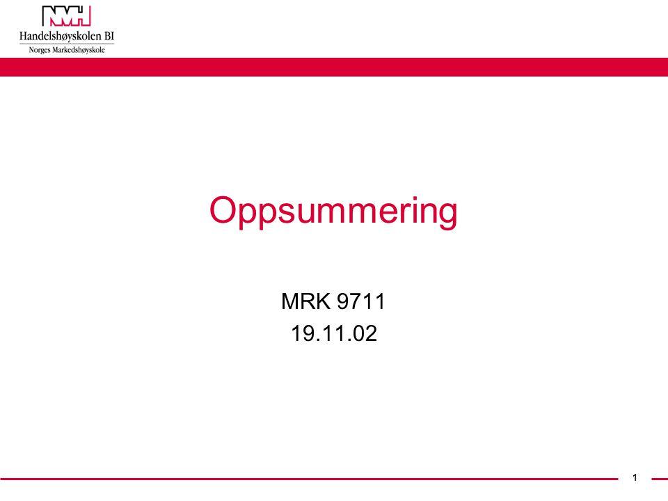 1 Oppsummering MRK 9711 19.11.02