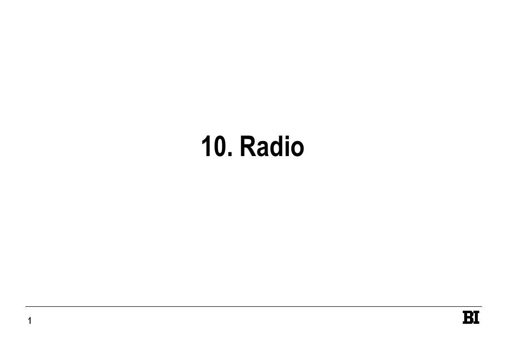 1 10. Radio