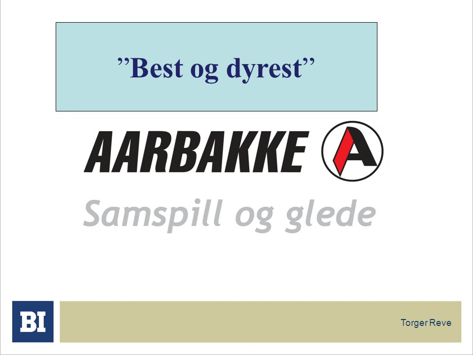 "Torger Reve ""Best og dyrest"""