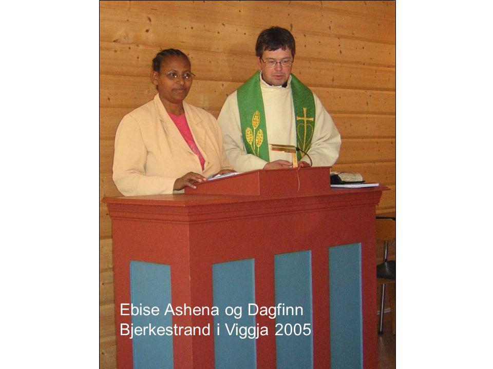 Ebise Ashena og Dagfinn Bjerkestrand i Viggja 2005