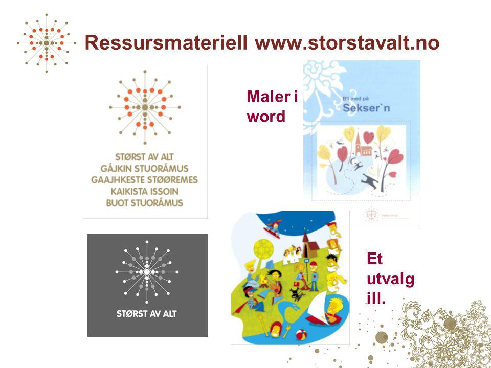 Ressursmateriell www.storstavalt.no Maler i word Et utvalg ill.