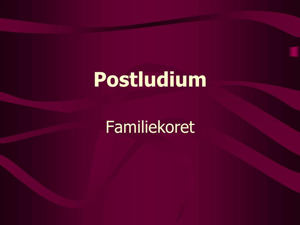Postludium Familiekoret