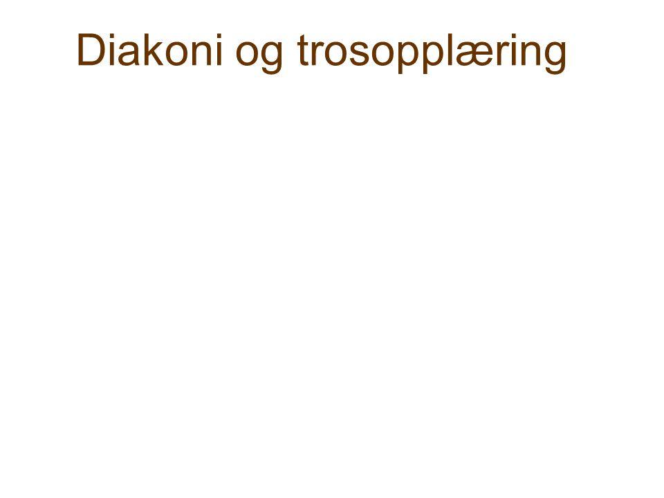 Diakoni og trosopplæring