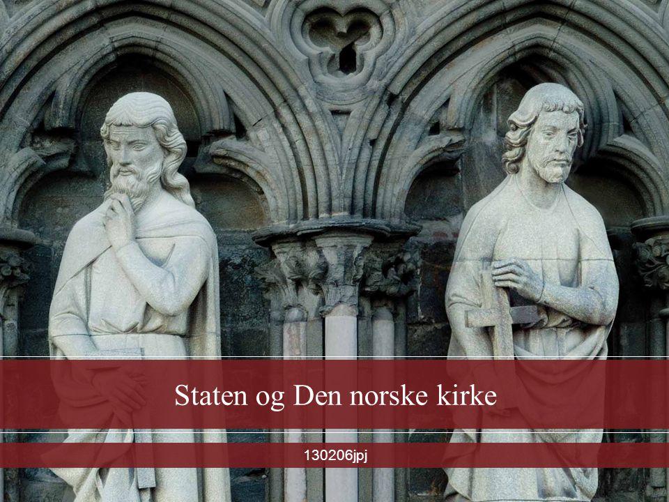 Staten og Den norske kirke 130206jpj
